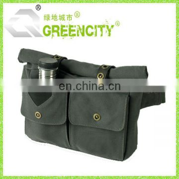Fashional Utility Waist Bag Canvas
