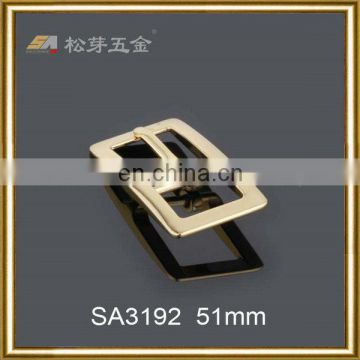 Excellent decoration 51mm fashion customized alloy classic style pin buckle