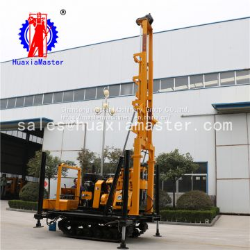 XYD-130 self-propelled engineering hydraulic drill small crawler exploration drilling rig