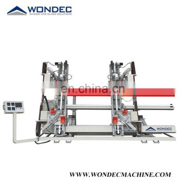 CNC Four Corner Vertical Welding Machine For UPVC Door Window Making Machine