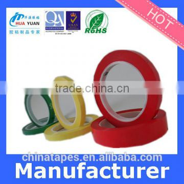 Acrylic acid glue orange polyester film tape, orange mylar tape, polyester silicone adhesive tape