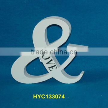custom painted wooden letter block wholesale