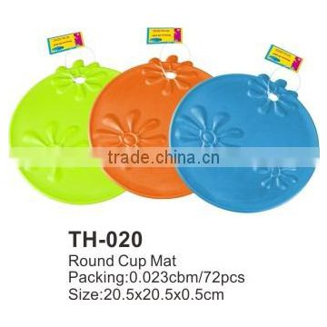 High Quality Round Cup Mat TH-020