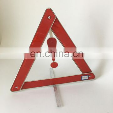 Car Emergency Kits Warning Sign Red Safety Reflective Flashing Light Warning Triangle