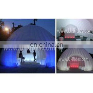pvc tarpaulin decorating inflatable birthday tent for outdoor