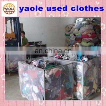 wholesale Summer used clothing second hand clothes low price
