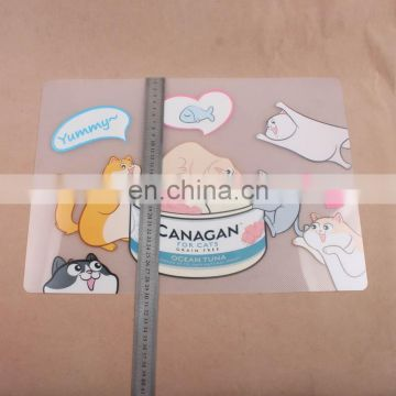 2017 BSCI Customers Advertising Logo Promotional plastic pp placemat