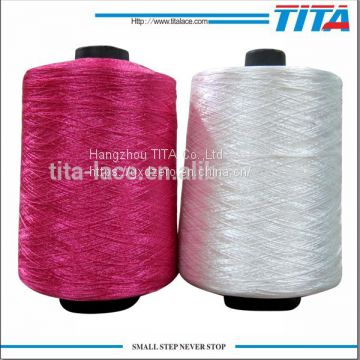 Raw white 15polyester embroidery thread for embroidery machines
