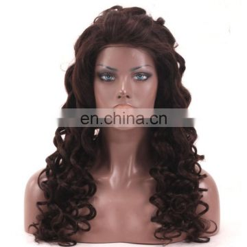 100% human hair Brazilian virgin full lace human hair wig