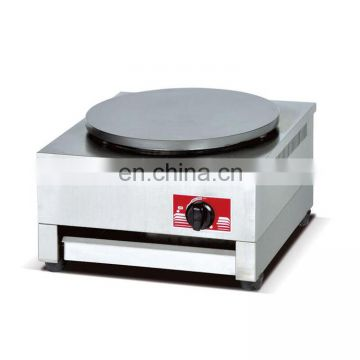 Commercial stainless steel gascrepemachine
