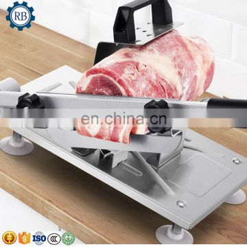 Compact structure easy cleaning and convenient maintaining meat slicer for sale