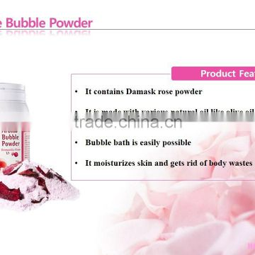 Homerose Rose Aroma Bubble Powder