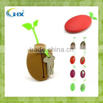 MA-103 silicone case for key chains for promotional