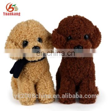 Wholesales best made toys plush dog mascot stuffed animals
