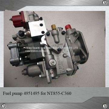 100% new and original cummins NTA855-C360 fuel pump PT pump 4951495