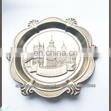 Wholesales hot sales local feature Lodon tourist souvenirs gifts plate