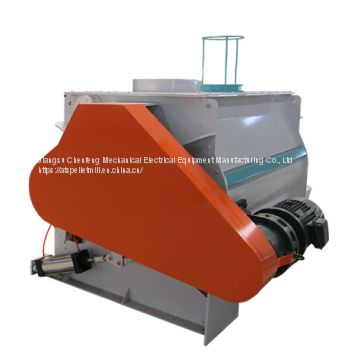 High efficiency double shaft Mixer
