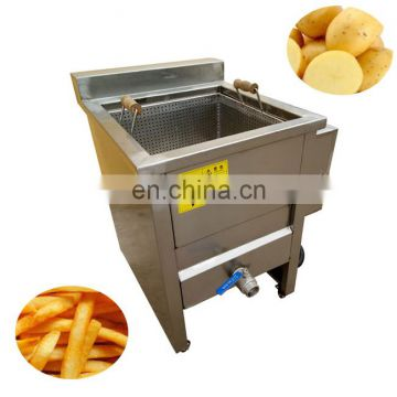 Price fish and chips snack groundnut frying machine