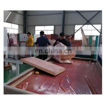 Automatic MWJM-01 Doors Wood Grain Transfer Machine