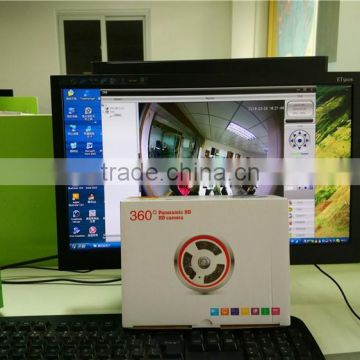 Cloud CMS/APP/Web Online Monitor Metal Casing 360 Degree Fisheye