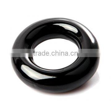 Black Round Weight Power Swing Ring for Golf Clubs Warm up Training Aid