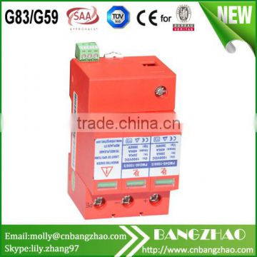 1000V 3 Phase surge protector device DC SPD