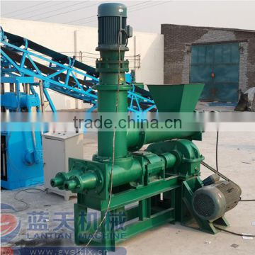 Variety Shapes Screw Press Briquette Machine For Coconut Shell Charcoal Indonesia