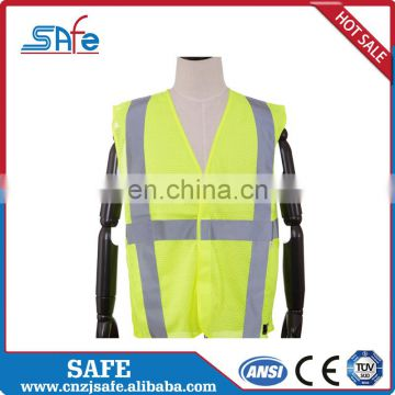 ANSI.MESH reflective clothing with stripes tape for workwere