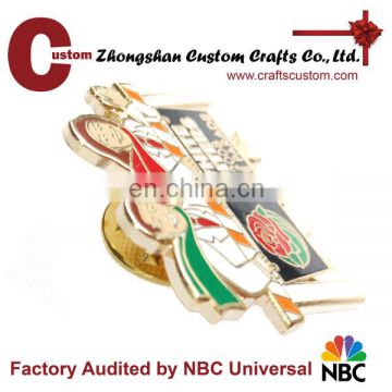 2014 high quality wholesale custom lapel pins