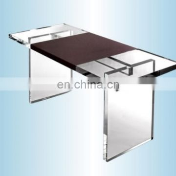 New clear square shape transparent acrylic coffee table clear acrylic table and chairs table acrylic