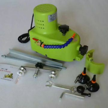 Hand glass edging polishing grinding machine