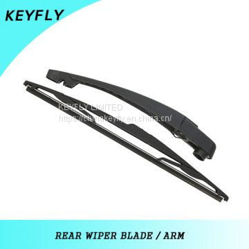 DACIA DUSTER 2008 370mmCar Windshield Wiper Blades , Teflon Coating Rubber Wiper Blade Arm,Black,High Level