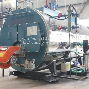 Gas oil fired 1500 kg steam boiler of Gas Oil Boiler from China ...