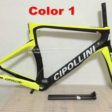 CIPOLLINI frame NK1K carbon fiber road frame Di2 Mechanical racing bike carbon road frame