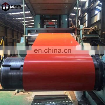 prepainted galvanized steel coil  PPGI  and PPGL   from Shandong China