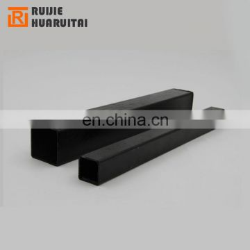 black carbon square steel pipe astm rectangular steel pipes