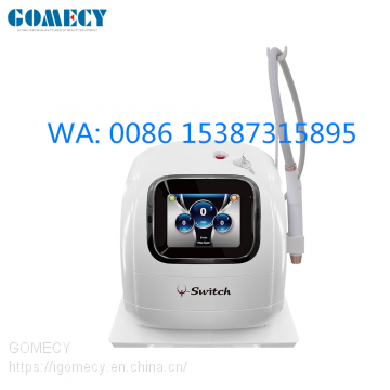 GOMECY hot sale portable picosecond laser tattoo removal machine  pico second laser755nm 532nm picosure