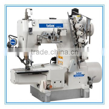 BR-600-01CB-DA Direct Drive High-speed Small Flat Bed Interlock Sewing Machine(With Auto Trimmer)