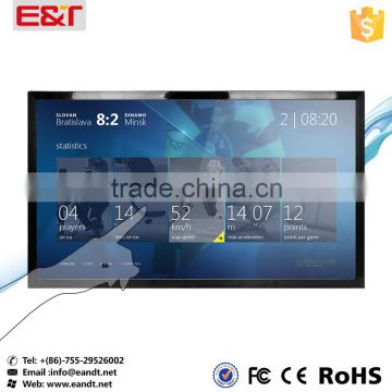 "Large size USB port Infrared 42"" touch screen,IR touch screen overlay kit,ir touch panel frame for Kiosks"