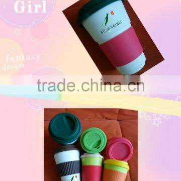 Quality assurance Best design Customized bamboo coffee cup mug