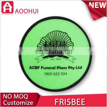 Good quality 2D design foldable frisbee fan