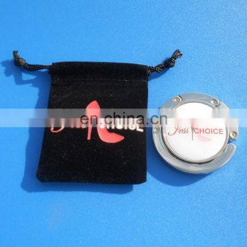 Blank sublimation bag hanger/bag hook/purse hanger hook wholesale