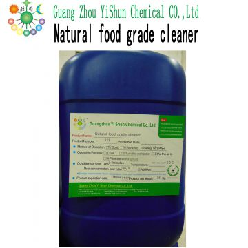 Natural food grade cleaner Natural fruit and vegetable cleaners