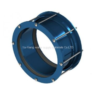 Large diameter pipe dismantling expansion joint flexible pipe coupling
