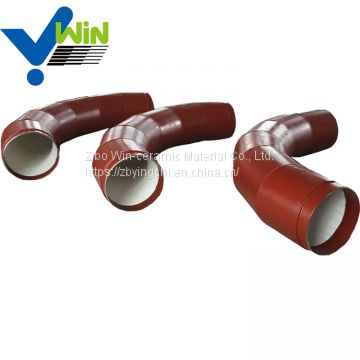New products ceramic lined bend pipe seamless pipe
