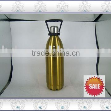 double wall Insulated Sports Bottles&Eco Vessel Vacuum Sealed Silver yoga Bottle Stainless Steel coke cola bottle