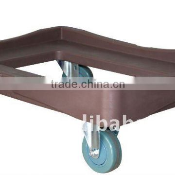 Rotomolded Insulated Food Pan Carrier Dolly for SB2-B90
