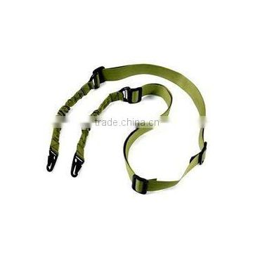 SUNGUN SLG0012 Green Tactical Two Point Bungee Sling Hot