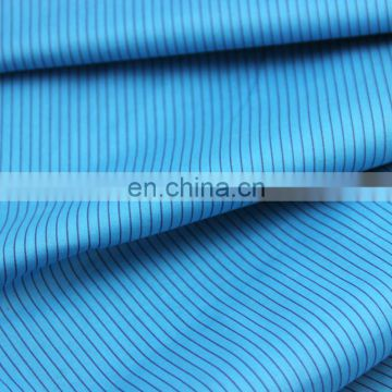 stripe printed fabric be fashinal 2016 in garment for making shirt/blouse