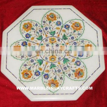 Marble Inlay Table Tops, Inlay Table Tops, Inlaid Coffee Table Top